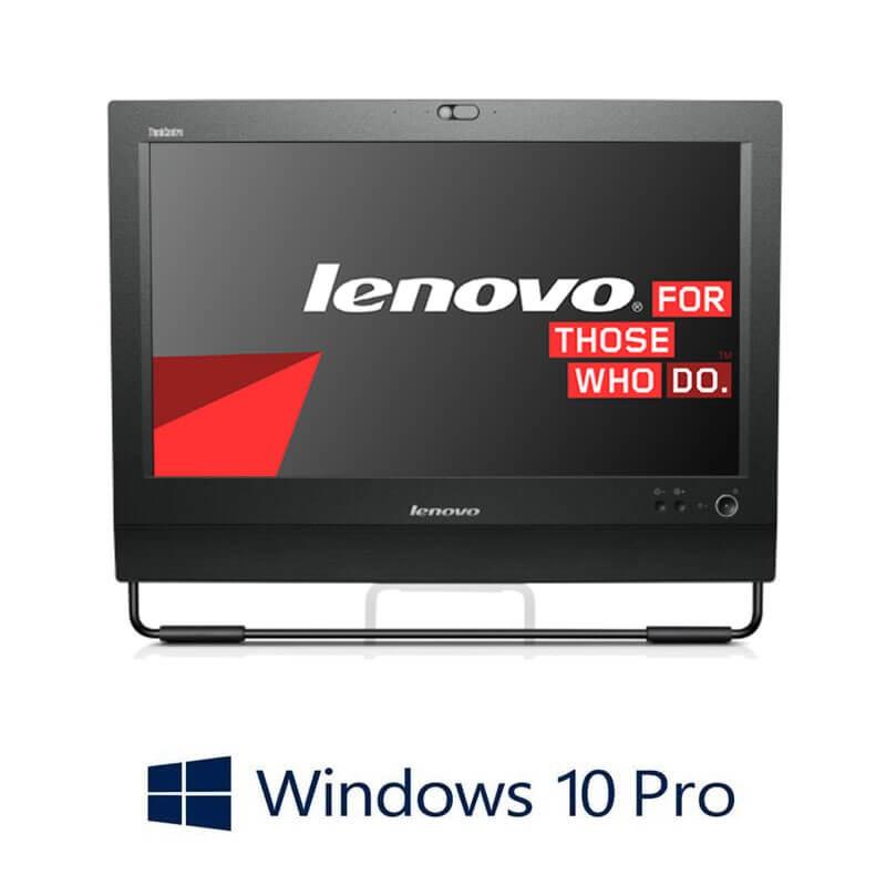 All-in-One Lenovo ThinkCentre M71z, Quad Core i7-2600, SSD, Webcam, Win 10 Pro