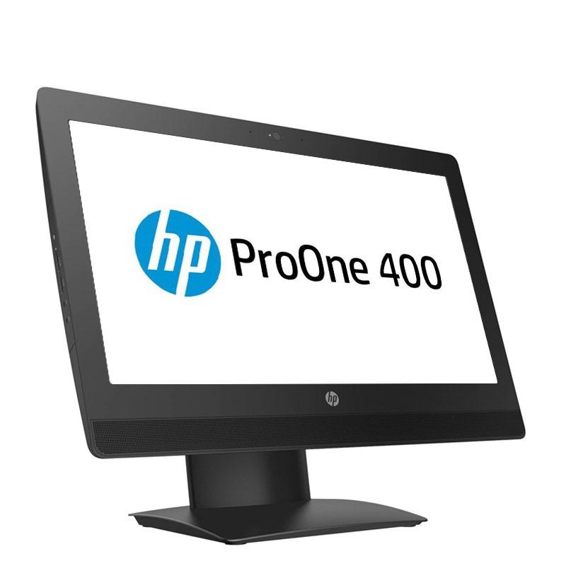 All-in-One second hand HP ProOne 400 G3, Quad Core i5-6500T, 240GB SSD NOU, 20 inci, Webcam