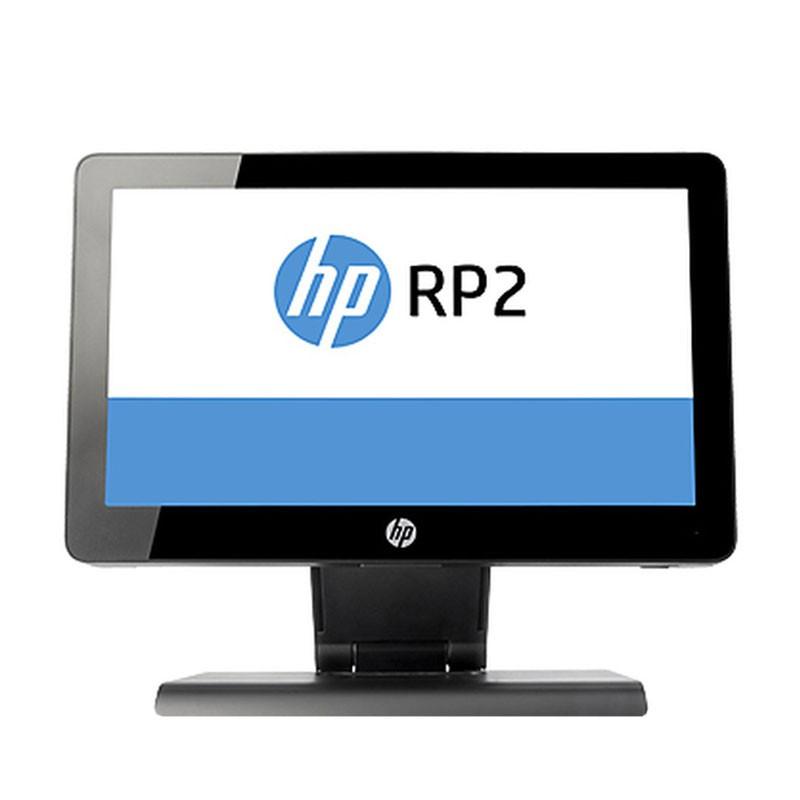 All-in-One second hand HP RP2 2030, Intel Quad Core J2900, 8GB DDR3, 128GB SSD, 14 inci
