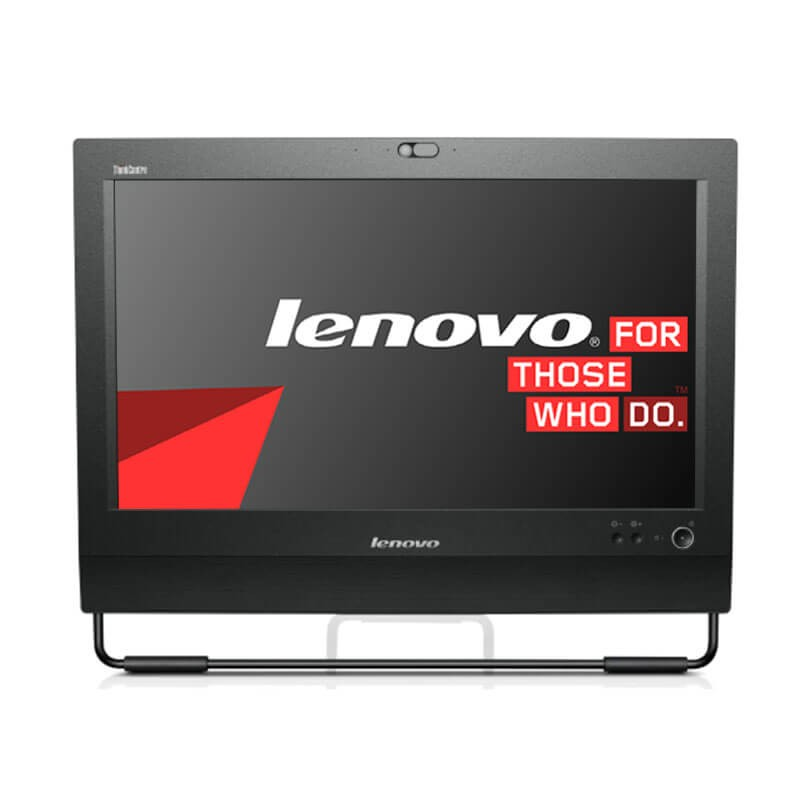 All-in-One second hand Lenovo ThinkCentre M71z, Quad Core i7-2600, 240GB SSD, Webcam