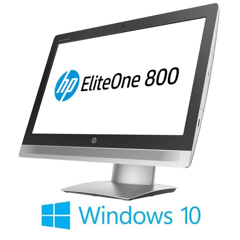 All-in-One Touchscreen HP EliteOne 800 G2, i5-6500, Full HD IPS, Win 10 Home