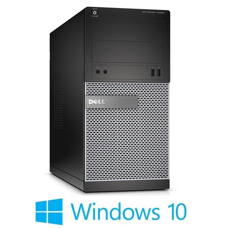 Calculatoare Dell OptiPlex 3020 MT, Quad Core i5-4570, 240GB SSD NOU, Win 10 Home
