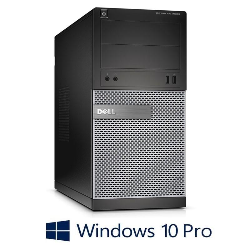Calculatoare Dell OptiPlex 3020 MT, Quad Core i5-4570, 240GB SSD NOU, Win 10 Pro
