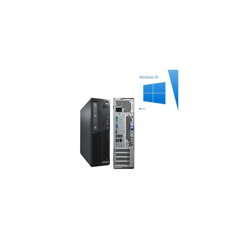 Calculatoare Refurbished Lenovo M91p sff, Quad Core i5-2400, Win 10 Home