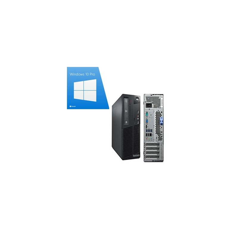 Calculatoare Refurbished Lenovo M91p sff, Quad Core i5-2400, Win 10 Pro