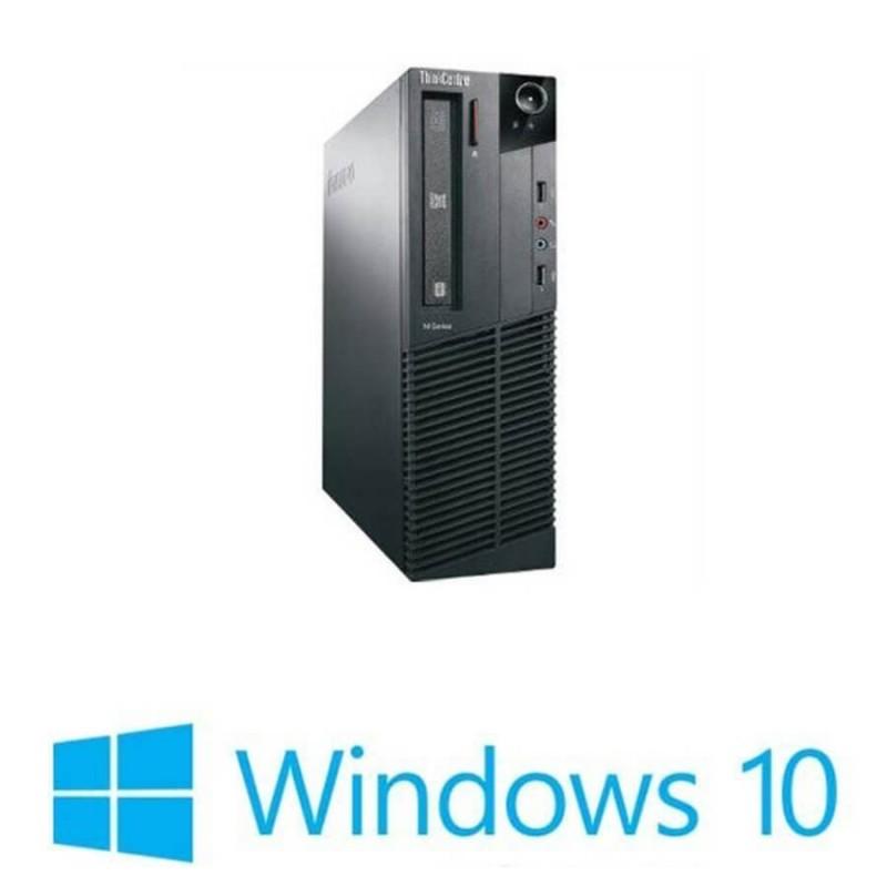 Calculatoare Refurbished Lenovo ThinkCentre M90P DT, i5-650, Win 10 Home