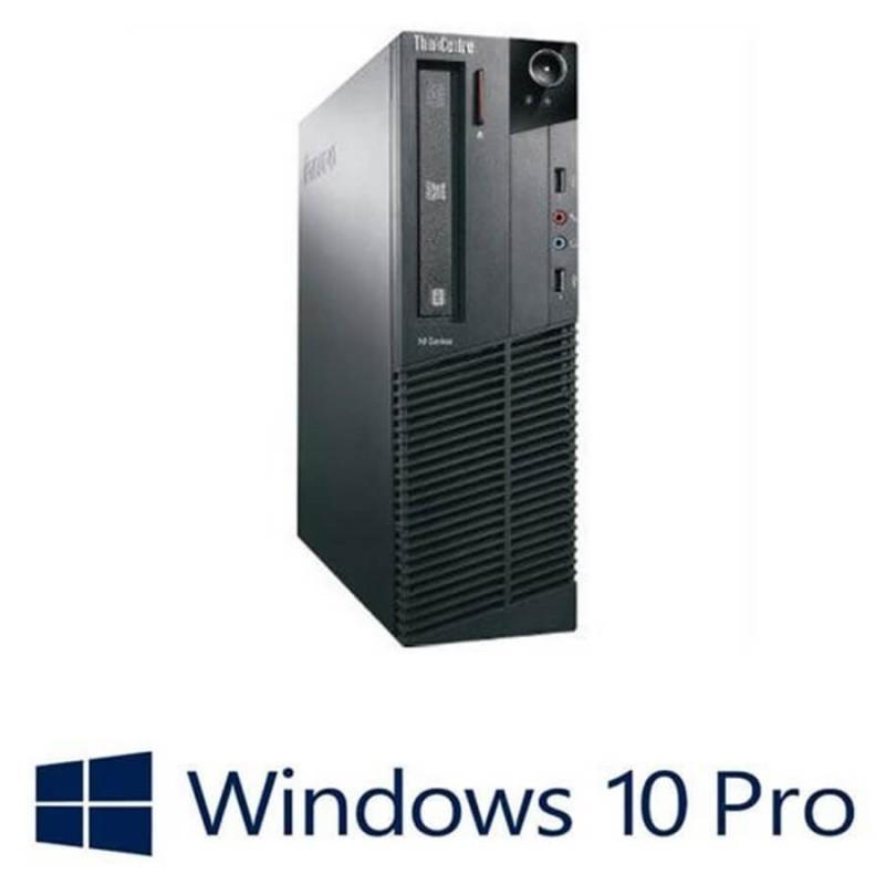 Calculatoare Refurbished Lenovo ThinkCentre M90P DT, i5-650, Win 10 Pro