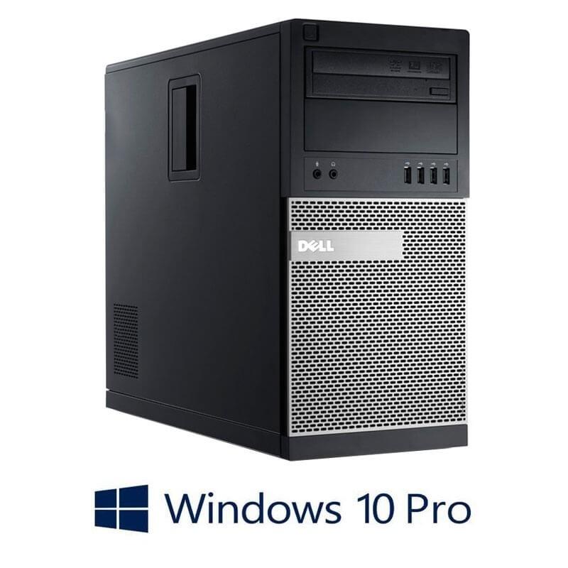 Calculator Dell OptiPlex 790 MT, Quad Core i5-2400, 120GB SSD NOU, Win 10 Pro