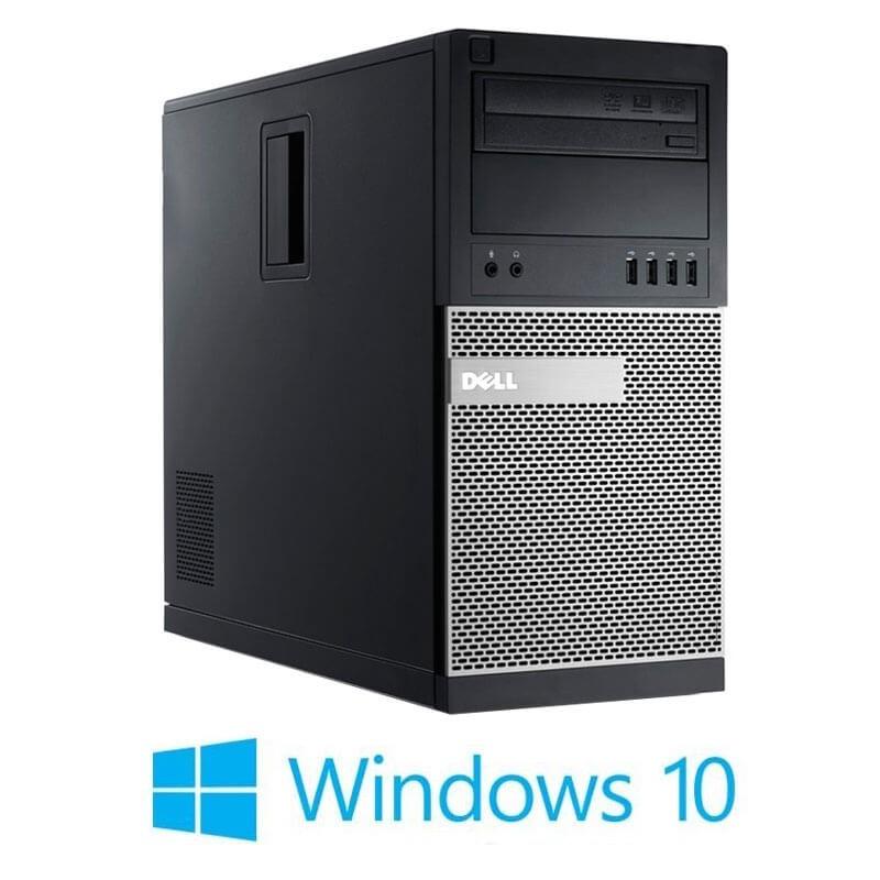 Calculator Dell OptiPlex 790 MT, Quad Core i7-2600, 240GB SSD NOU, Win 10 Home