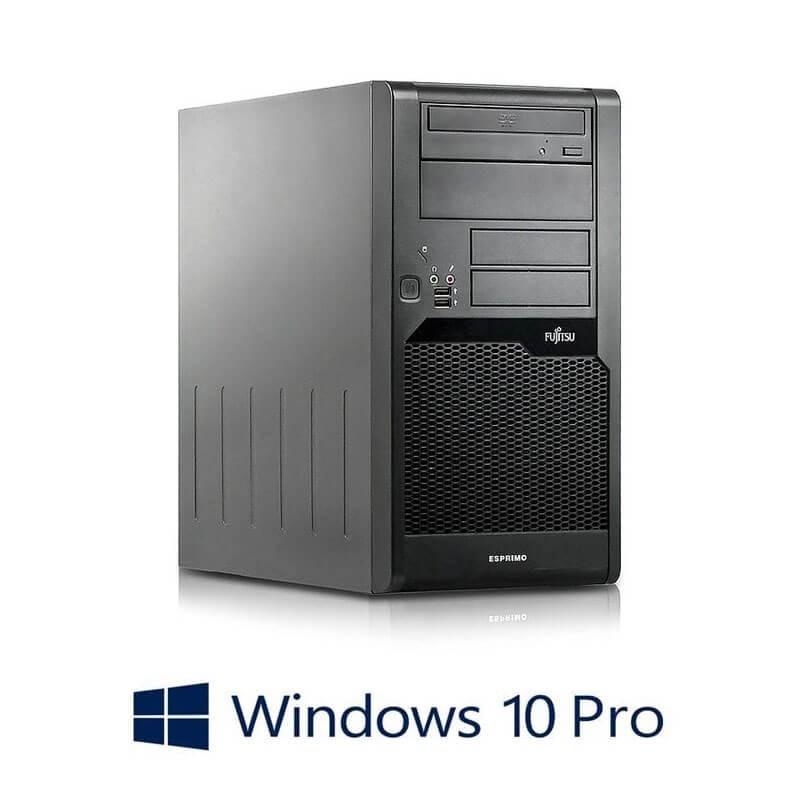 Calculator Fujitsu ESPRIMO P5730, Intel Dual Core E5400, Windows 10 Pro