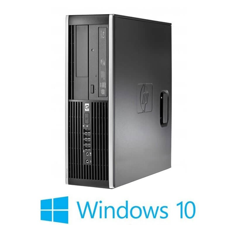 Calculator HP Compaq 8000 Elite SFF, Core 2 Duo E8400, Windows 10 Home