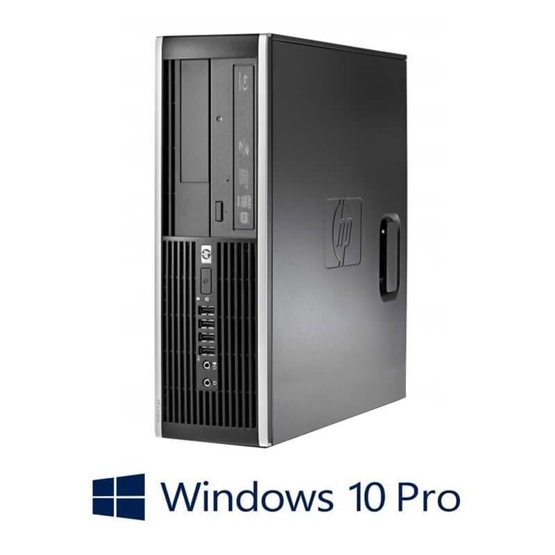 Calculator HP Compaq 8000 Elite SFF, Core 2 Duo E8400, Windows 10 Pro
