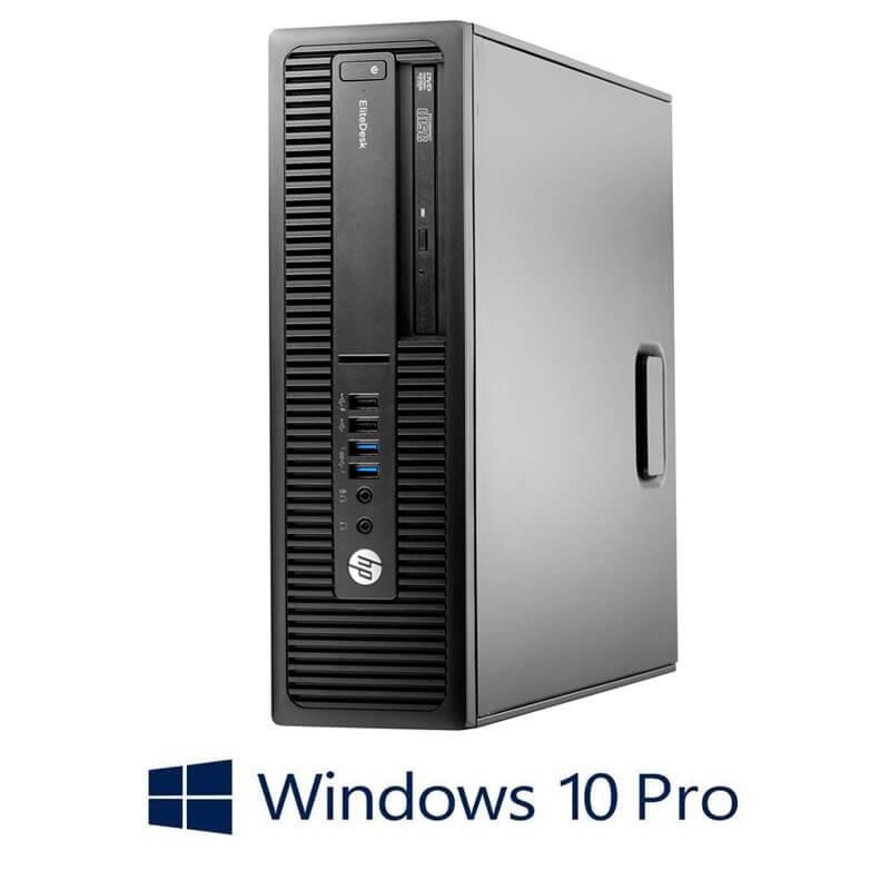 Calculator HP EliteDesk 705 G2 SFF, AMD PRO A4-8350B, Windows 10 Pro