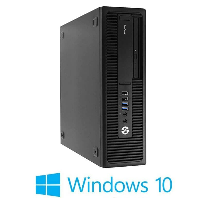 Calculator HP ProDesk 600 G2 SFF, Quad Core i7-6700T, 240GB SSD NOU, Win 10 Home