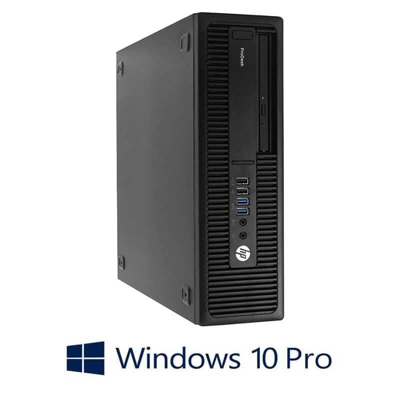 Calculator HP ProDesk 600 G2 SFF, Quad Core i7-6700T, 240GB SSD NOU, Win 10 Pro
