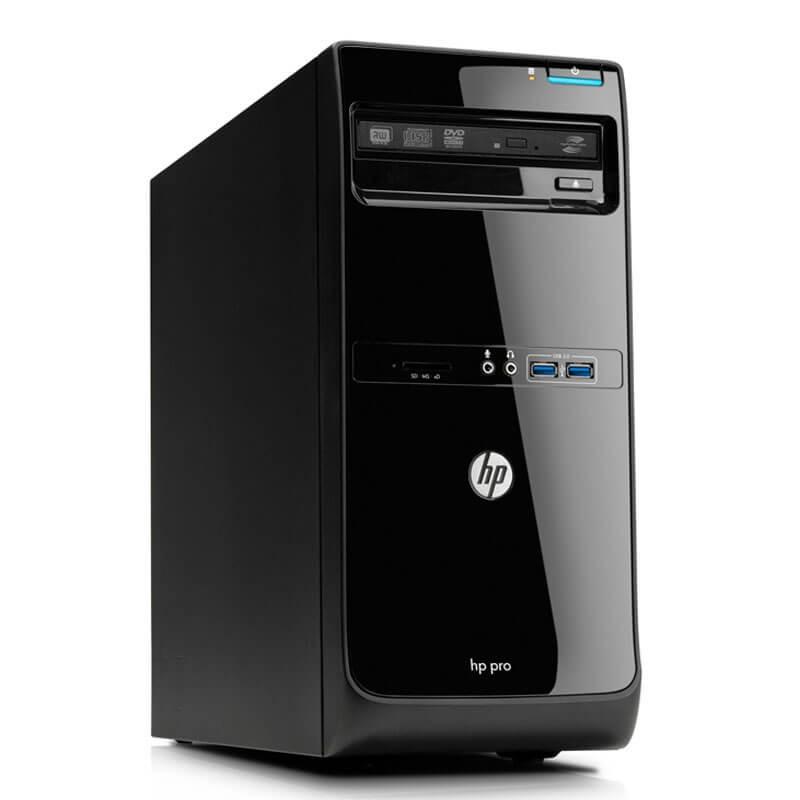 Calculator second hand HP Pro 3500 MT, Intel Quad Core i7-2600, 120GB SSD NOU