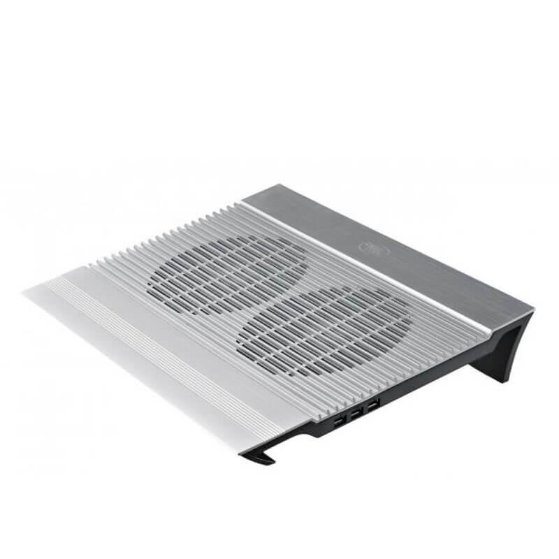 Cooler Laptopuri NOU DeepCool N8, 17 inci, 4 x USB, Aluminiu