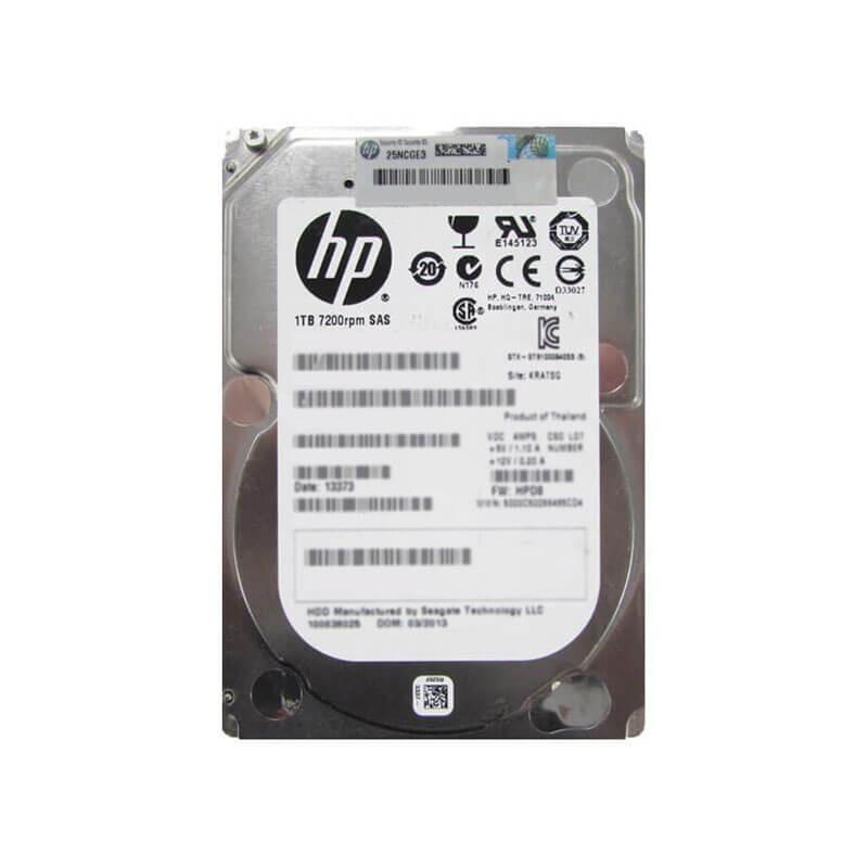 HDD Refurbished HP 727397-001 1TB SAS 6Gbps 7200RPM 2.5 inch