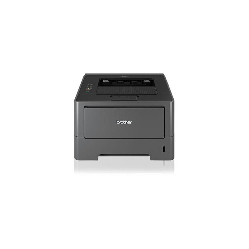 Imprimanta second hand laser Brother HL-5450DN, Cuptor reconditionat, Toner full