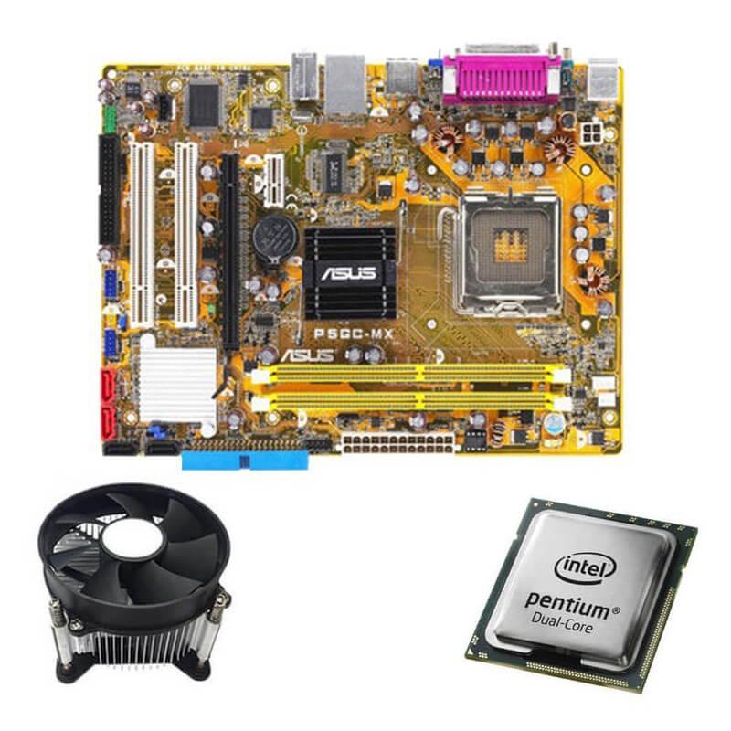 Kit Placi de baza Asus P5GC-MX/S, Intel Dual Core E2140, Cooler