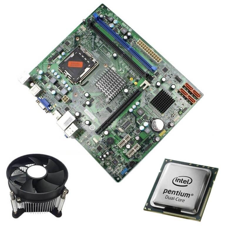 Kit Placi de baza Medion MS-7633, Intel Dual Core E5700, Cooler