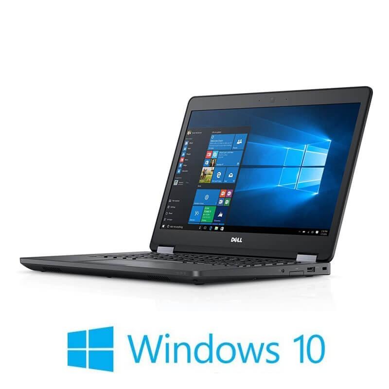 Laptop Dell Latitude E5470, i5-6300U, 256GB SSD, 14 inci, Webcam, Win 10 Home