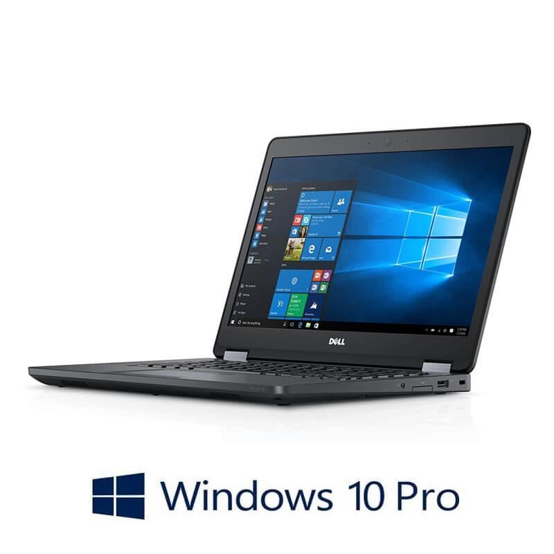 Laptop Dell Latitude E5470, i5-6300U, 256GB SSD, 14 inci, Webcam, Win 10 Pro