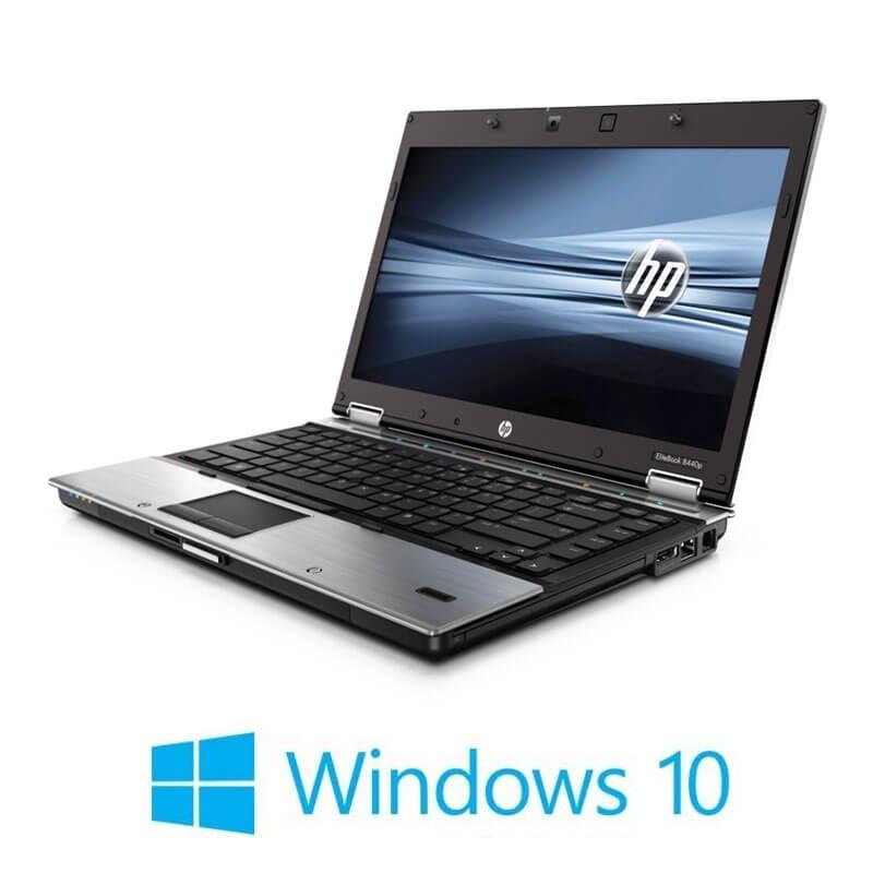 Laptop HP EliteBook 8440p, Intel i5-560M, 14 inci, Webcam, Windows 10 Home