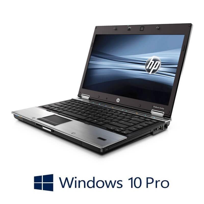 Laptop HP EliteBook 8440p, Intel i5-560M, 14 inci, Webcam, Windows 10 Pro