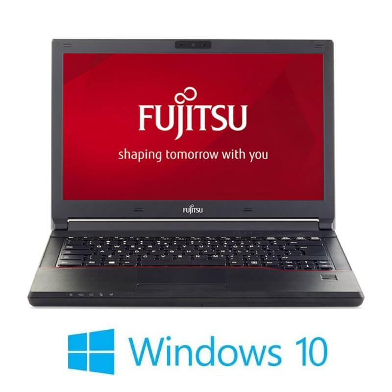 Laptop Refurbished Fujitsu LIFEBOOK E546, i3-6006U, SSD, Webcam, Win 10 Home
