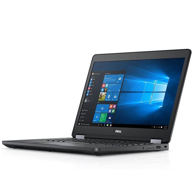 Laptop second hand Dell Latitude E5470, Intel i5-6300U, 256GB SSD, 14 inci, Webcam
