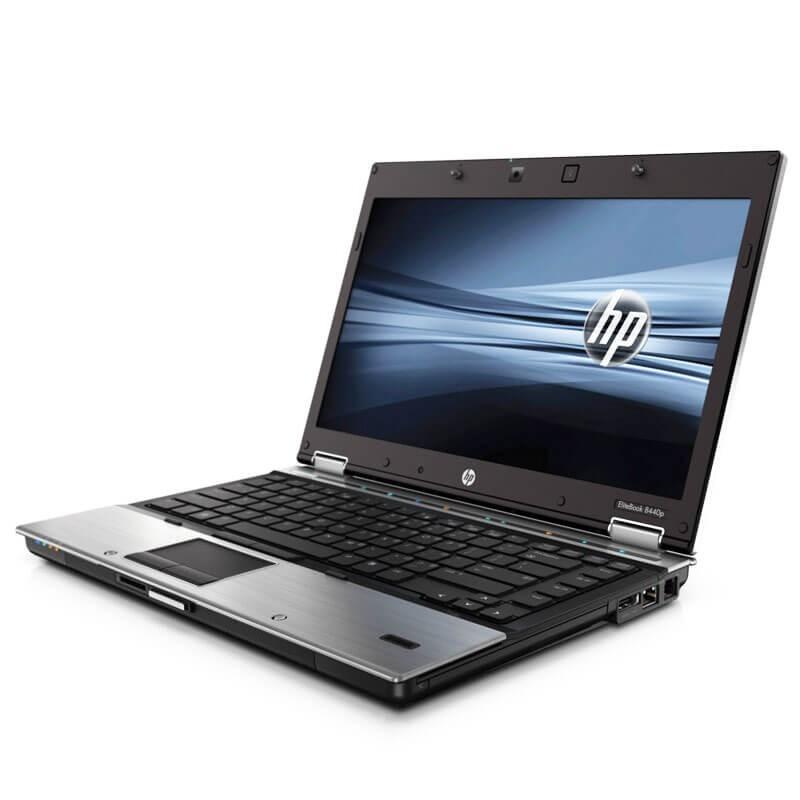 Laptop second hand HP EliteBook 8440p, Intel Core i5-560M, 14 inci, Webcam