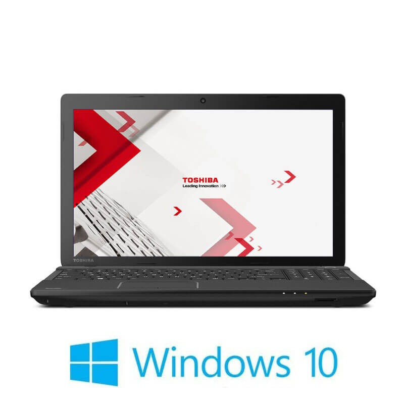 Laptop Toshiba Satellite Pro C50-A-1J1, i3-3110M, 15.6 inci, Webcam, Win 10 Pro