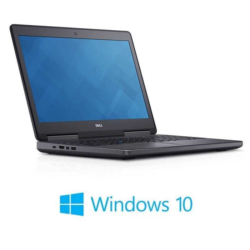 Laptopuri Dell Precision 7510, i7-6820HQ, 512GB SSD, Full HD, Quadro M1000M 2GB, Win 10 Home