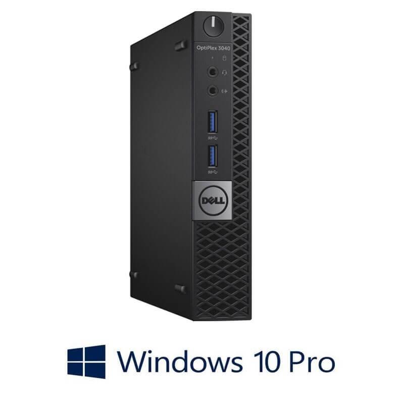 Mini Calculatoare Dell OptiPlex 3040, Quad Core i7-6700T, 120GB SSD NOU, Windows 10 Pro