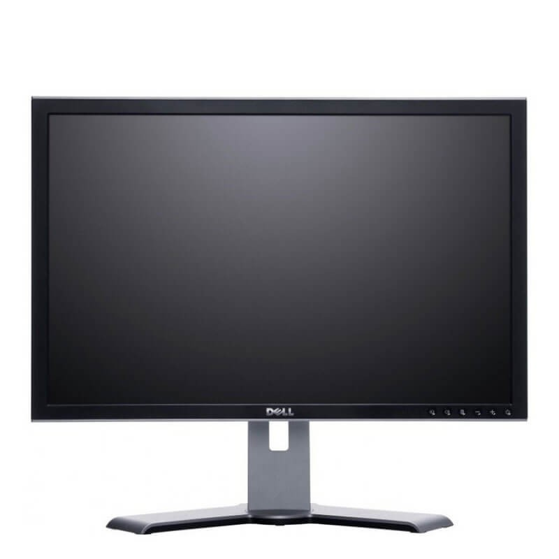 Monitor LCD Dell UltraSharp 2007WFPb, 20 inci