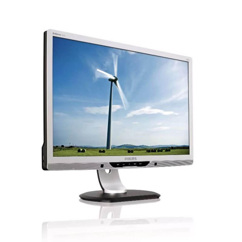 Monitor LCD Philips Brilliance 225P2ES, 22 inci Widescreen