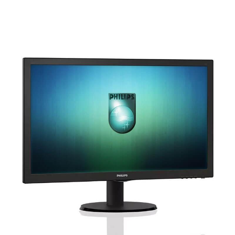 Monitor LED Philips 223V5L, 21.5 inci Full HD