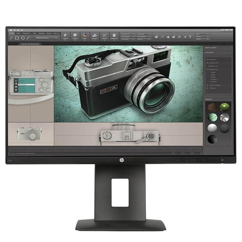Monitor LED second hand HP Z23n, 23 inci Full HD, Grad A-, Panel IPS