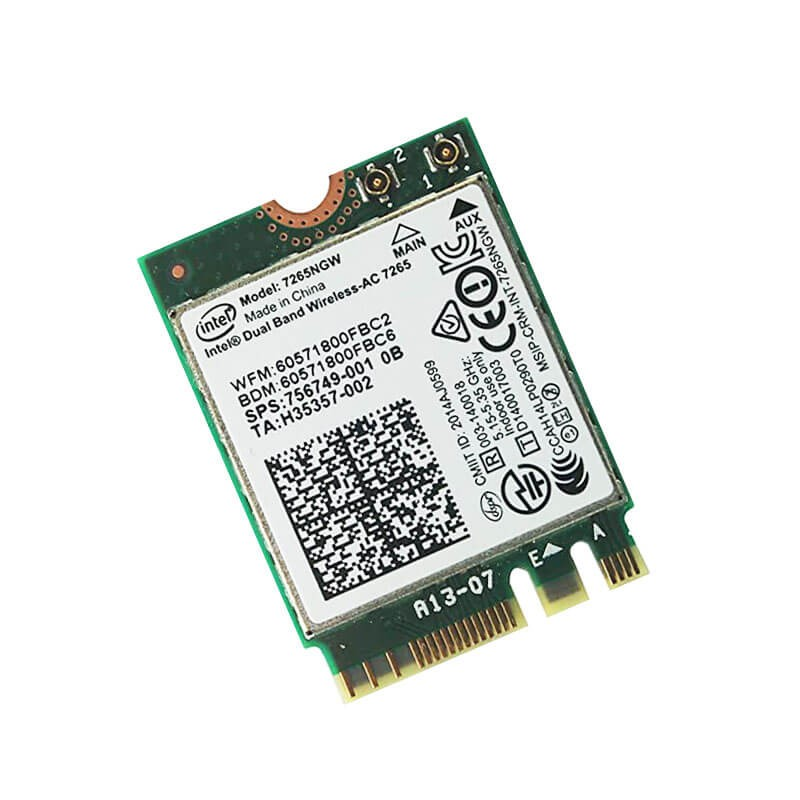 Placa Retea Dual Band Wireless-AC 7265NGW, Bluetooth 4.0