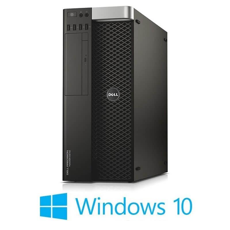 Statie grafica Dell Precision 5810 MT, Xeon E5-1620 v3, SSD, Quadro M4000, Win 10 Home
