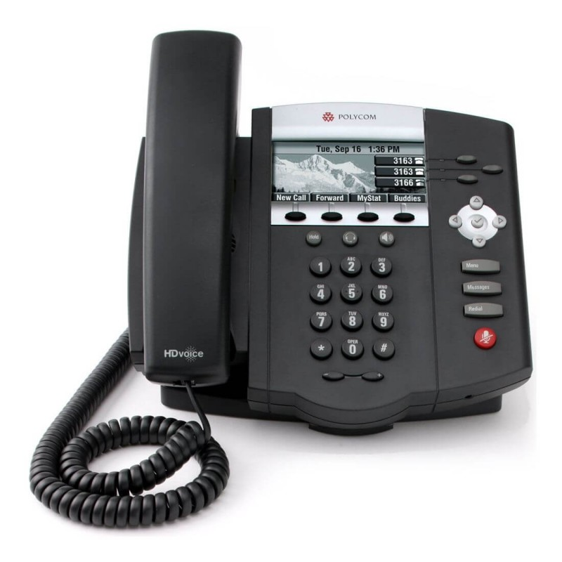 Telefon SIP Polycom SoundPoint IP 450 PoE